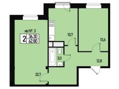 Квартира №3