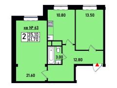 Квартира №63