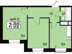 Квартира №12