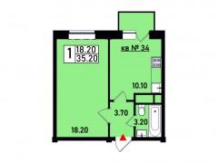 Квартира №34