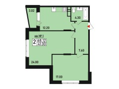 Квартира №1