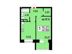 Квартира №8
