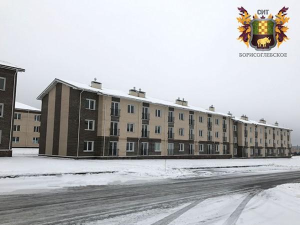 Введено в эксплуатацию пять малоэтажных жилых домов