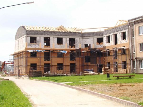 Ход строительства (дом 176 секция 1)