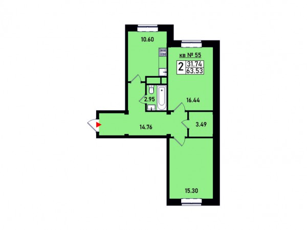 Квартира №55