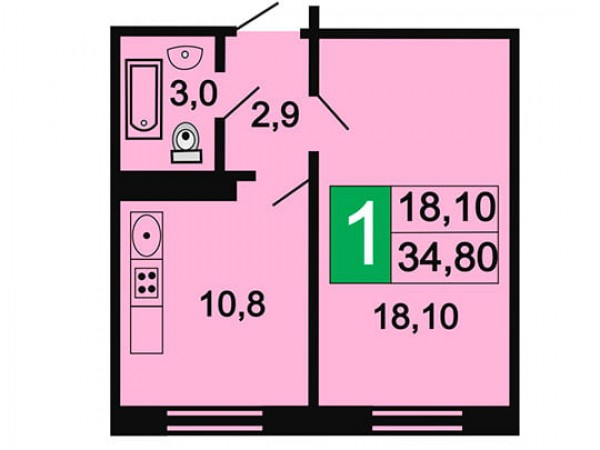 Квартира №116