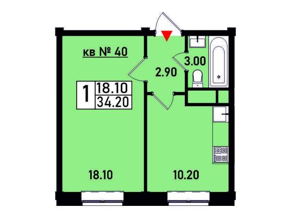 Квартира №40
