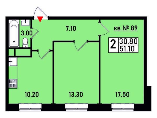 Квартира №89