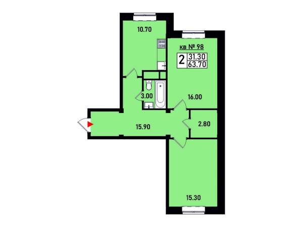 Квартира №98