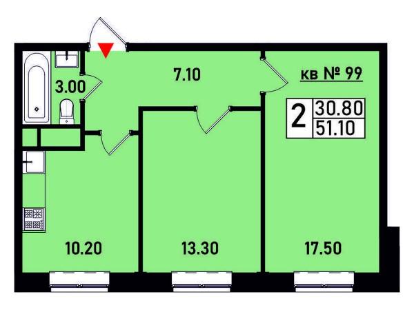 Квартира №99