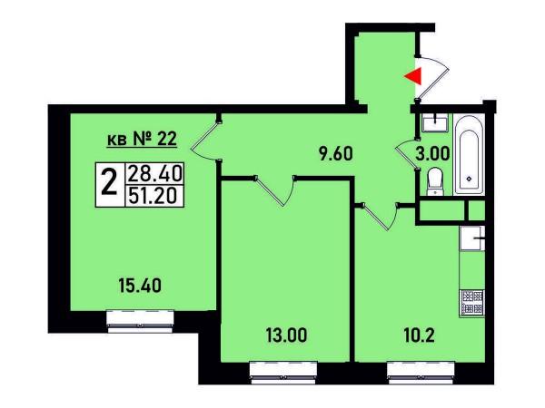 Квартира №22