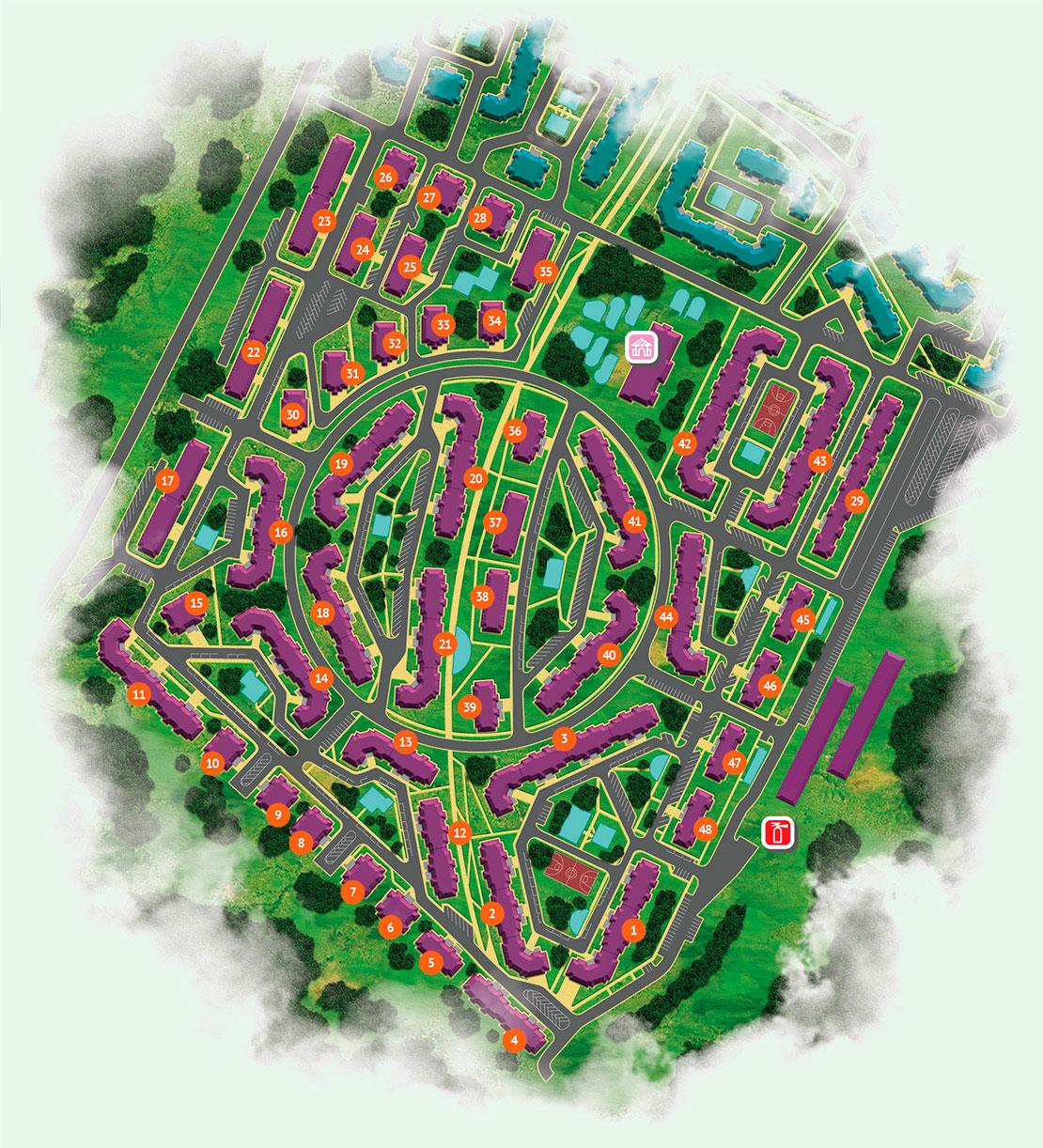 Сиреневый квартал